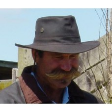 Oilskin Drovers hat