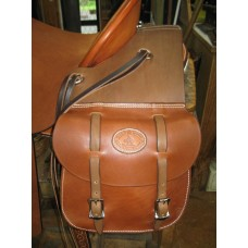 Set of Western Leather Saddle Bags