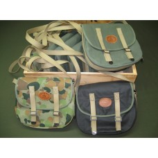 Oilskin / Canvas Satchel